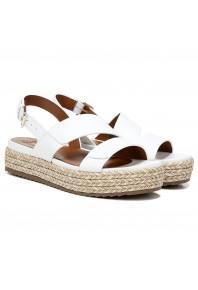 Naturalizer Jasmin Platform Sandal White