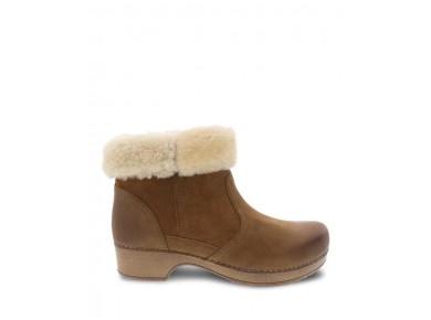 Dansko Bettie Honey Burnished Boot
