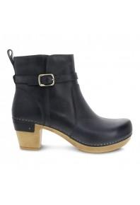 Dansko Anya Denim Waxy Burnish Boot