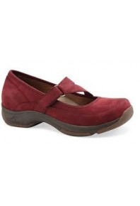 Kiki Red Wine Mary Jane sz 36