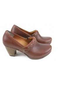 Riki heel Brown Leather sz 36