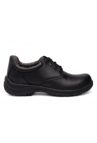 Dansko Mens Walker Black Leather