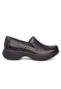 Dansko Womens Winona Black Milled Nappa