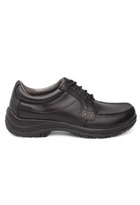 Dansko Mens Wyatt Black Leather