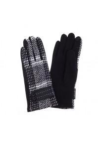 IVYS Plaid Chevron Gloves