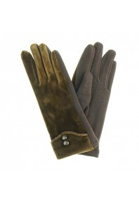 IVYS Velvet Gloves Brown