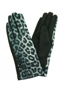 IVYS Leopard Gloves Grey