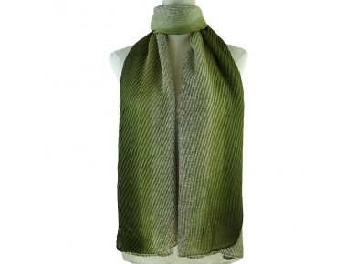 IVYS Fade Out Scarf Grey/Green