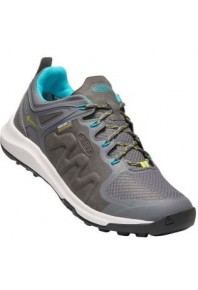 Keen Womens Explore Lace-up Steel Grey/Turquoise