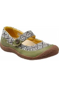 Keen Harvest MJ Button Loden Green