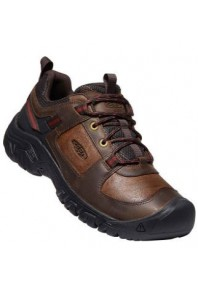 Keen Mens Targhee III Dark Earth/Fired Brick