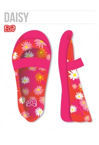 Luv Flats Toddler - Pink Daisy