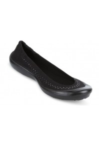Luv Dream flat - Black rhinestone