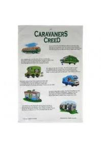 Caravaners Creed TeaTowel
