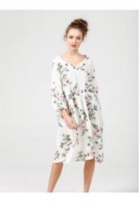 MRSV Amelia Linen Dress Floral