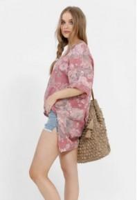 MRSV Contessa Linen Top Florals