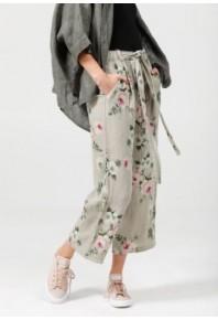 MRSV Eva Linen Floral Pants