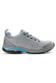 Propet Womens Petra Sneaker WP Grey/Blue