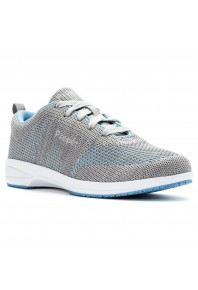 Propet Washable Walker Evo Grey/Blue sz 9