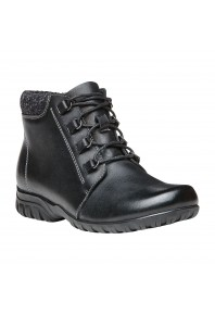 Propet Delaney Lace-up Boot Black
