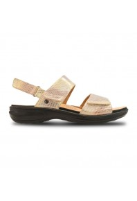 Revere Como Adjustable Sandal Metallic