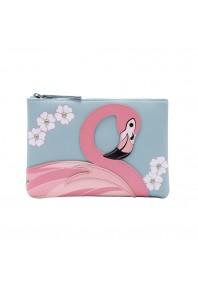 Vendula Animal Park Flamingo Zip Coin Purse *preorder*