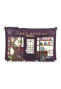 Vendula Old Book Shop Crossbody Bag
