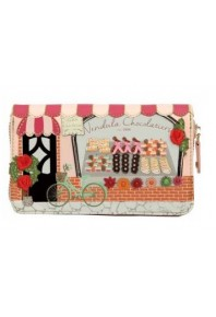 Vendula Chocolatier Zip Around Wallet