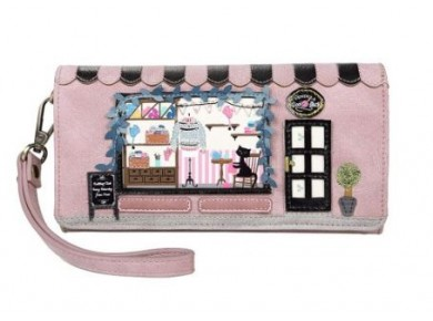 Vendula Wool Shop Flap Over Phone Wallet