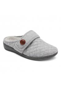 Vionic Carlin Slippers Light Grey