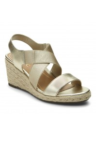 Vionic Ainsleigh Wedge Champagne