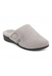 Vionic Gemma Slipper Light Grey