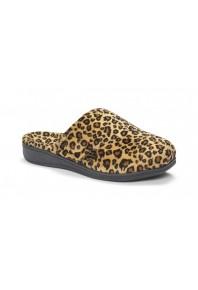 Vionic Gemma Slipper Tan Leopard