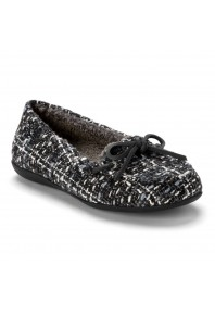 Vionic Ida Slipper Black/Grey sz 9