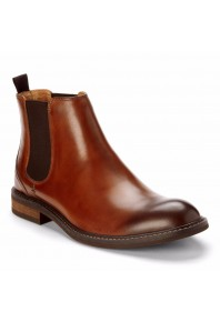 Vionic Mens Kingsley Chelsea Boot Chestnut