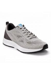 Vionic Mens Tate Active Sneaker  Grey