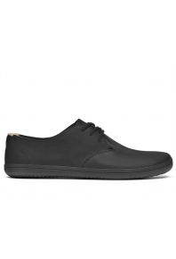 Vivobarefoot Mens Ra II Black Leather