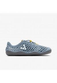 Vivobarefoot Ultra 3 Lead Blue Vap Grey Bloom
