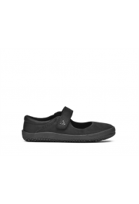 Vivobarefoot Kids Wyn School Shoe Black